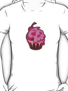 Skull Cupcake: Delicious and Deadly! T-Shirt