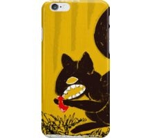 Cute Mr. Squirrel from HELL! iPhone Case/Skin