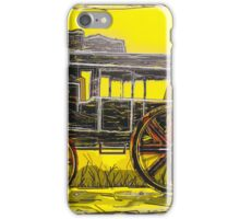 Old West Stagecoach iPhone Case/Skin