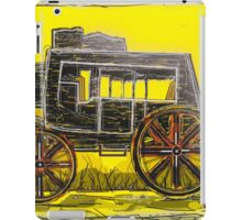 Old West Stagecoach iPad Case/Skin