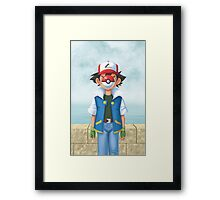 The Son of Monsters Framed Print