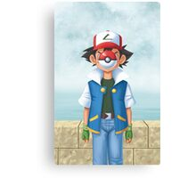 The Son of PokeMAN Canvas Print