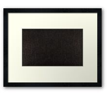 leather texture  Framed Print