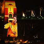 Harry Kewell and Harbour Bridge by Kamran Baig
