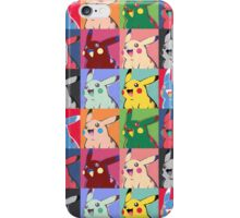 Warhol Pikachu iPhone Case/Skin