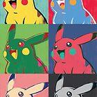 Warhol Pikachu by Missy Pena