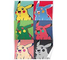Warhol Pikachu Poster
