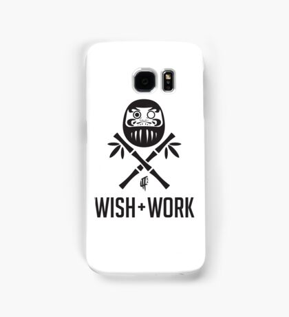 Wish and Work Samsung Galaxy Case/Skin