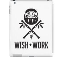 Wish and Work iPad Case/Skin