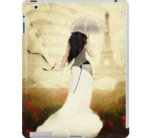 April in Paris iPad Case/Skin