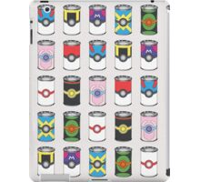 Pokeball Soup Cans iPad Case/Skin