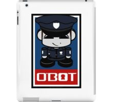 Police Hero'bot 2.1 iPad Case/Skin