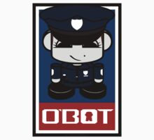 Police Hero'bot 2.1 Kids Tee