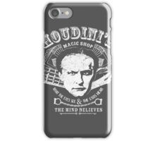 Houdini's Magic Shop (White) iPhone Case/Skin