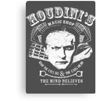 Houdini's Magic Shop (White) Canvas Print