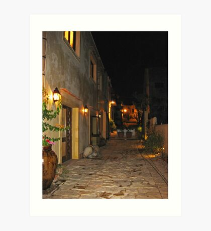 Sicilian Night Art Print