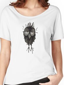 Funny Sleepy Owl Women's Relaxed Fit T-Shirt