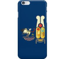 Ramesses the Great's Cartouches with adoring Rekhyt Birds iPhone Case/Skin