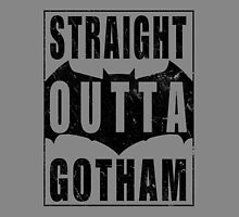 Straight Outta Gotham (Black) by Gingerbredmanny