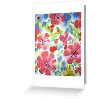 Summer is Blooming Greeting Card