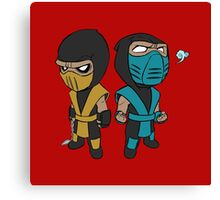 Scorpion & Sub-Zero Canvas Print