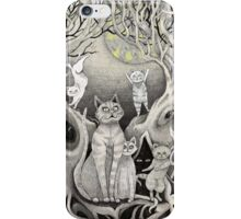 they danced in the light of the moon & stars remastered  iPhone Case/Skin