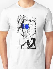 Hunter in Blues Unisex T-Shirt
