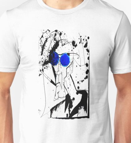 Hunter in Blues Unisex T-Shirt