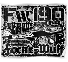 Fw 190 D-9 Poster