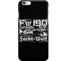 Fw 190 D-9 iPhone Case/Skin
