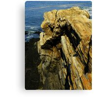 Layers And Texture Canvas Print