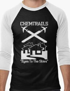 Chemtrails - Eyes To The Skies Men's Baseball ¾ T-Shirt