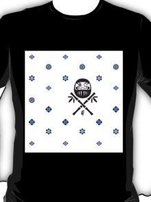 Wish and Work Pattern T-Shirt