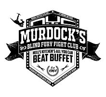 Murdock's Blind Fury Fight Club - Distressed Black by coldbludd