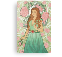 Rose Nouveau Canvas Print