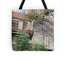 haunted house in motion Tote Bag