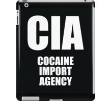 CIA - Cocaine Import Agency iPad Case/Skin