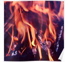 Burning Poster