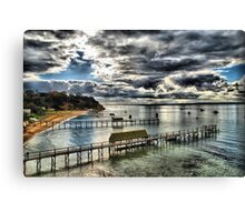 Portsea HDR Canvas Print