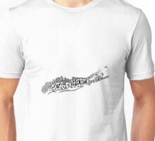 Hipster Long Island Outline Unisex T-Shirt