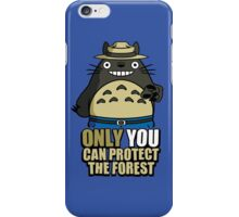 Protect The Forest iPhone Case/Skin