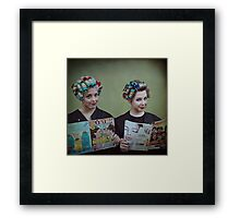 It's My Mother's Beauty Parlor Framed Print