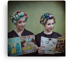 It's My Mother's Beauty Parlor Canvas Print