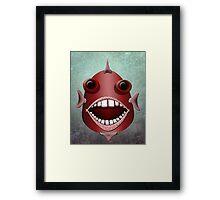 The Metal Aquarium  Giant Sea Bass Framed Print