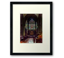 Fredericton Cathedral Framed Print