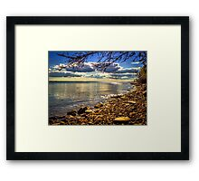 Cape John Beach Framed Print
