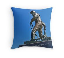In Memory Of Fishers Who Have Gone To Sea Throw Pillow