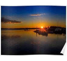 Pictou Sunset Poster