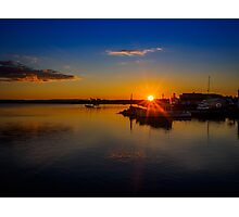 Pictou Sunset Photographic Print