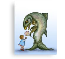 Yes, Virginia, There is a Frankenfish  Canvas Print